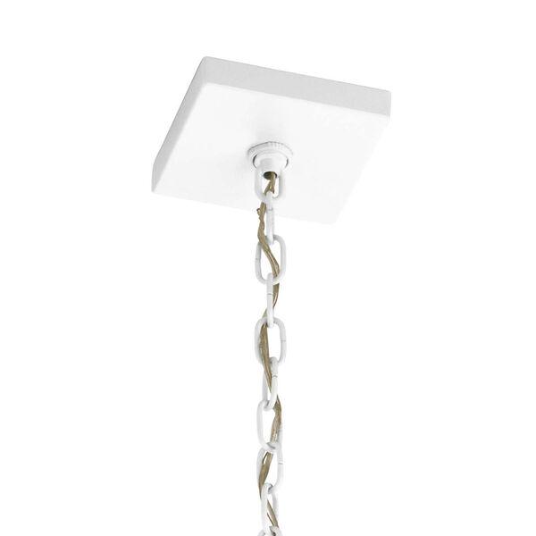 Vath White 30-Inch Four-Light Pendant, image 2