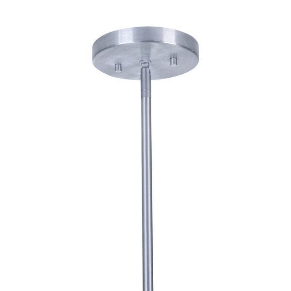 Perimeter Satin Aluminum One-Light Outdoor Mini-Pendant, image 6