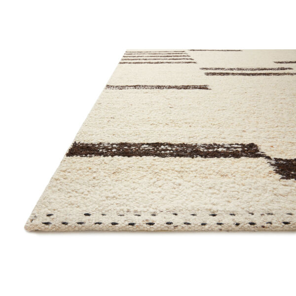 Roman Natural and Black Area Rug, image 3