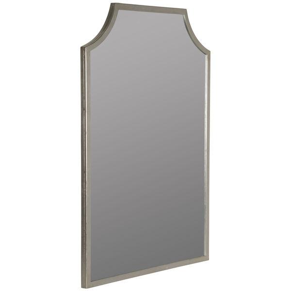 Simone Silver Leaf 36-Inch x 24-Inch Wall Mirror, image 3