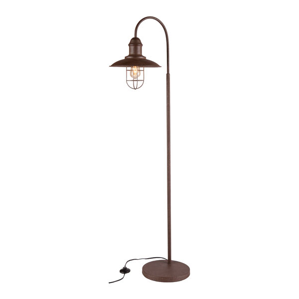 Pinsley Caged Bell Floor Lamp, image 3