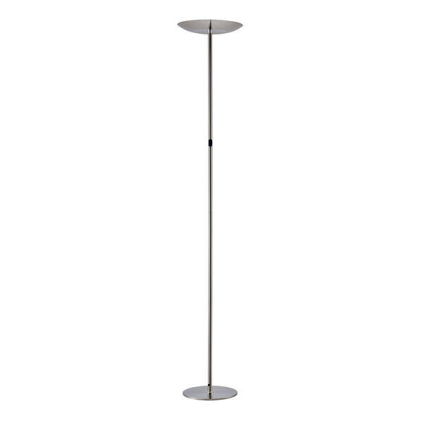 Torin Brushed Nickel LED Floor Lamp, image 2