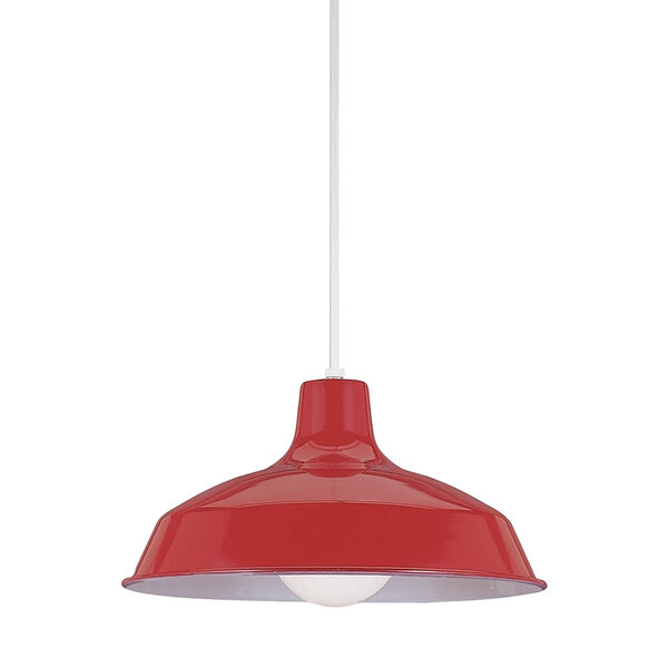Red Dome Pendant, image 1