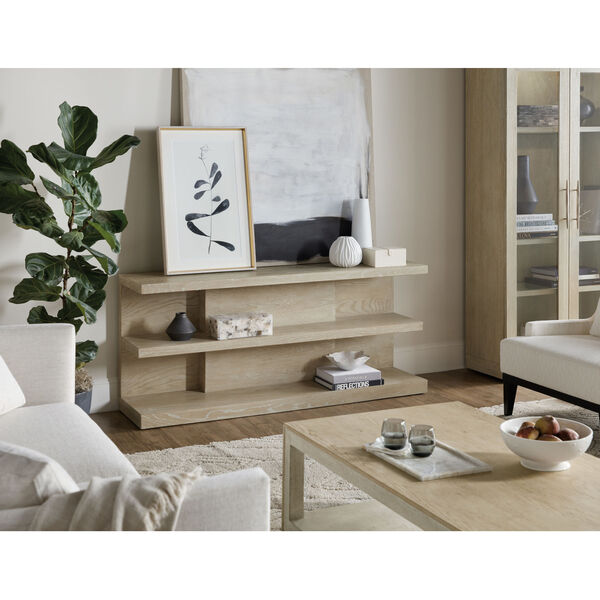 Cascade Taupe Console Table, image 4