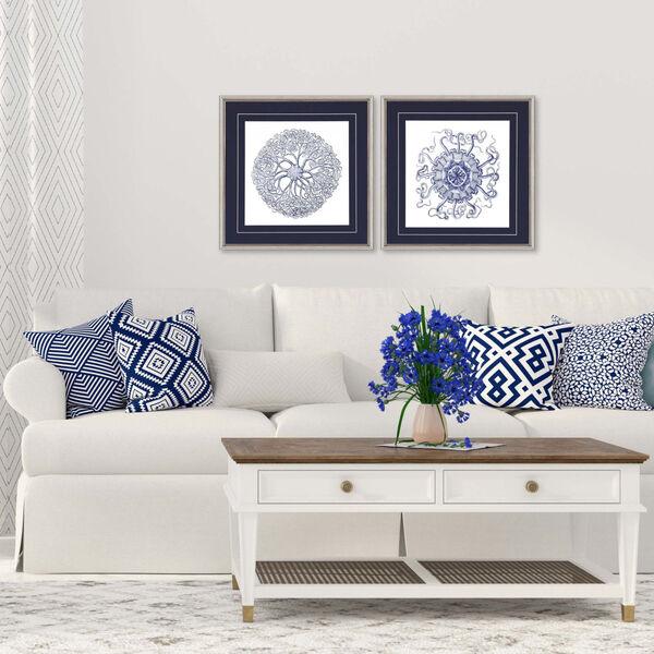 Navy Gems I Blue Framed Art, Set of Two, image 1