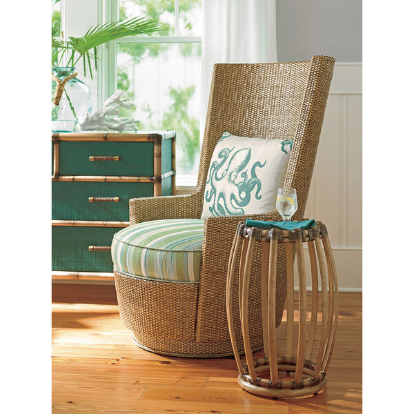 Twin Palms Brown Weston Accent Table, image 2