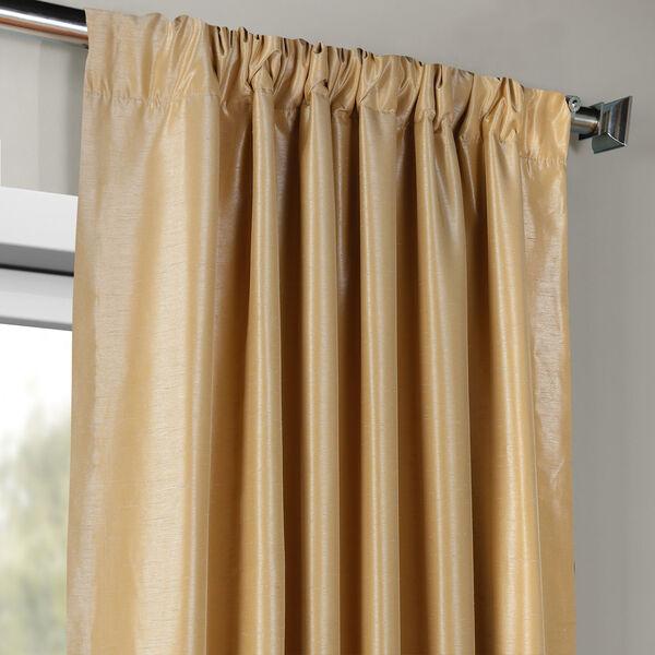Butternut 50 x 96-Inch Vintage Textured Faux Dupioni Silk Curtain, image 3