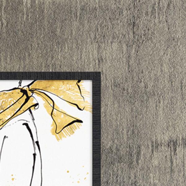 Fashion Strokes Yellow Framed Art, Set of Four, image 3