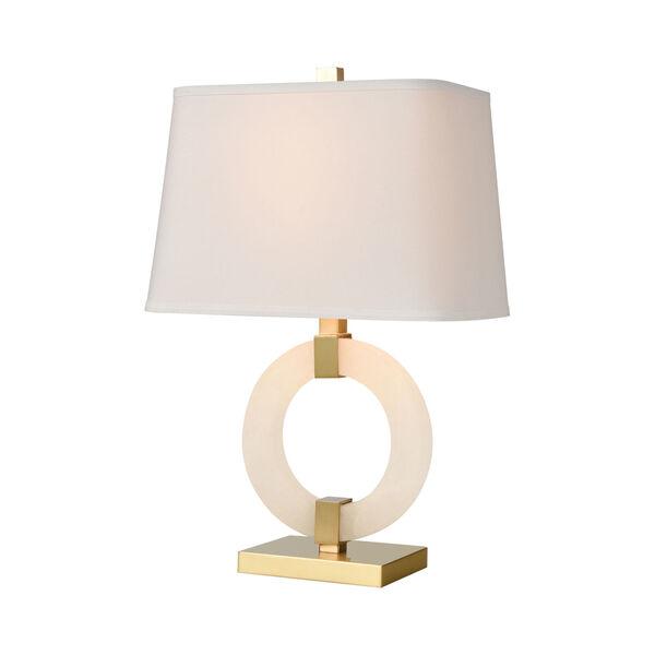 Envrion Honey Brass One-Light Table Lamp, image 1