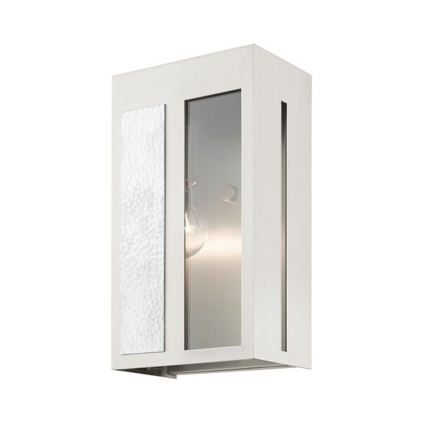 Lafayette Brushed Nickel Six-Inch One-Light Outdoor ADA Wall Sconce, image 4