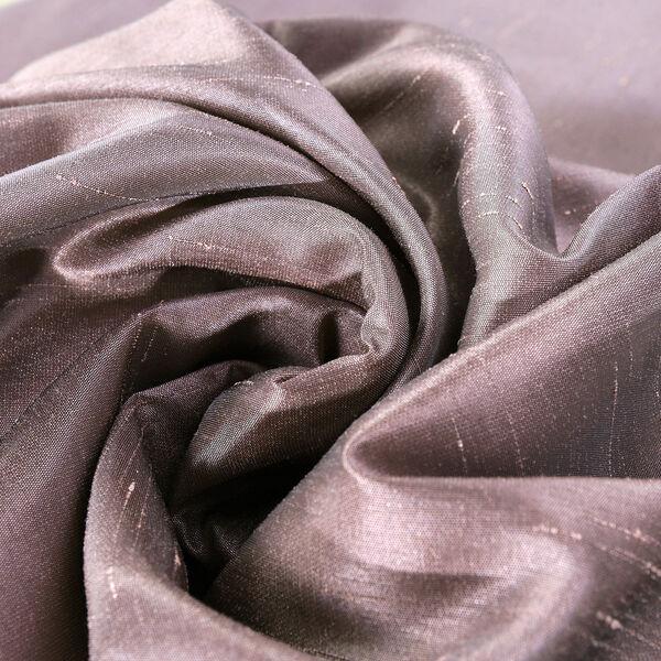 Smoky Plum Vintage Textured Faux Dupioni Silk Single Panel Curtain, 50 X 108, image 7