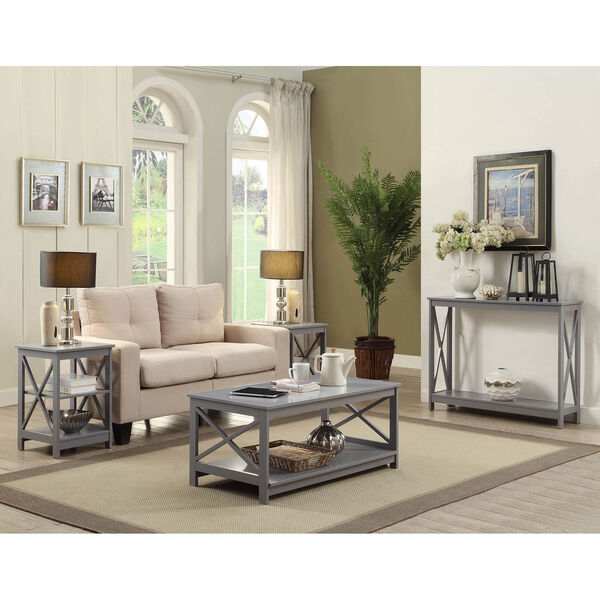 Oxford Gray End Table, image 4