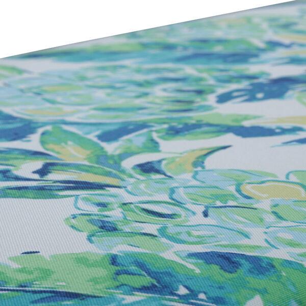 Vida Blue Green White 18-Inch Throw Pillow, Set of Two, image 2