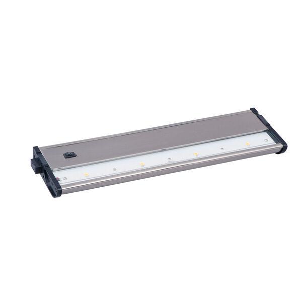 CounterMax MX-L120DC Satin Nickel 13-Inch 3000K 4-LED Under Cabinet, image 1