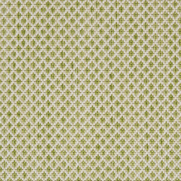 Courtyard Ivory and Green 5 Ft. x 7 Ft. Rectangle Indoor/Outdoor Area Rug, image 6
