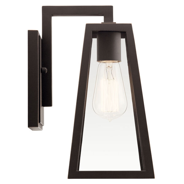 Delison Rubbed Bronze Seven-Inch One-Light Outdoor Wall Sconce, image 3
