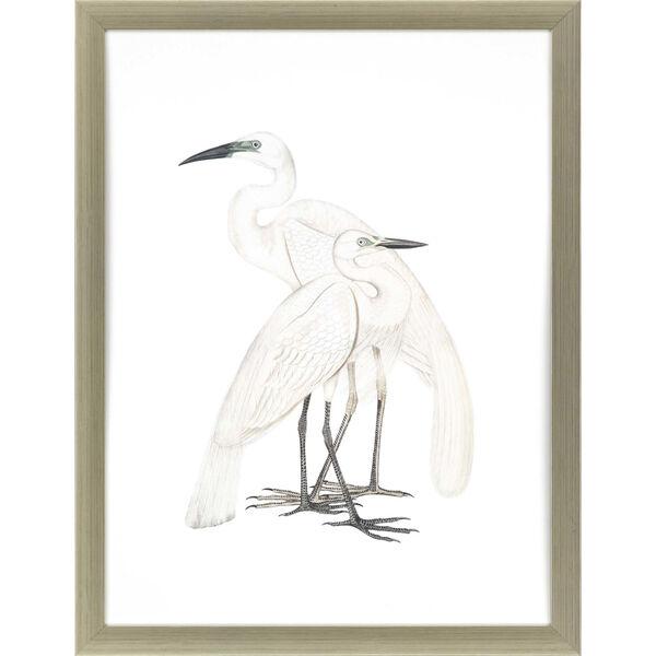 Black Billed Heron White Framed Art, image 2