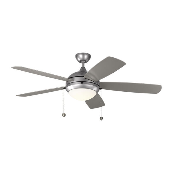 Discus Outdoor Painted Brushed Steel 52-Inch LED Outdoor Ceiling Fan, image 1