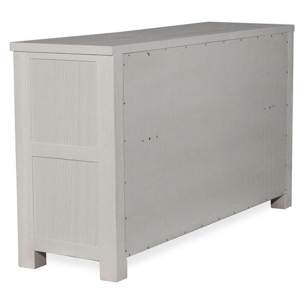 Highlands White 7 Drawer Dresser With Mirror, image 6