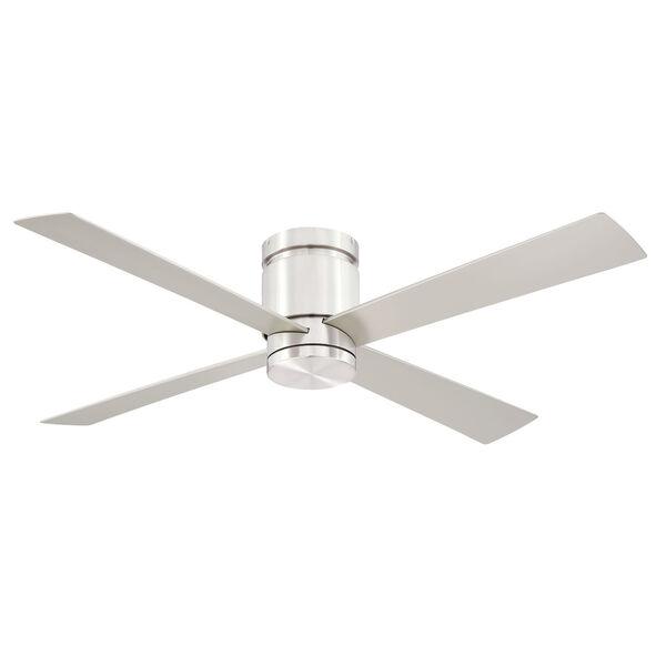 Kwartet Brushed Nickel 52-Inch LED Indoor Outdoor Ceiling Fan, image 2