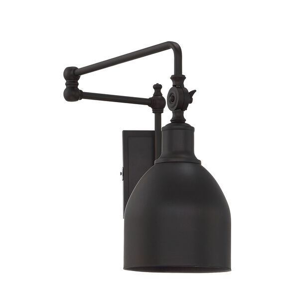 River Station Oil Rubbed Bronze One-Light Wall Sconce, image 2