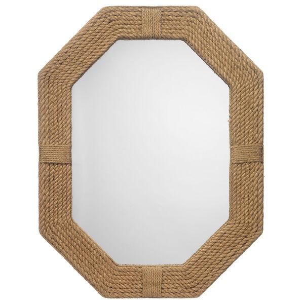 Lanyard Jute 36 x 46 Inch Mirror, image 1