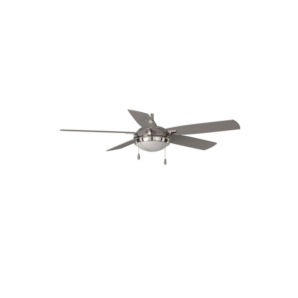 Lun-Aire Brushed Nickel LED Ceiling Fan, image 8