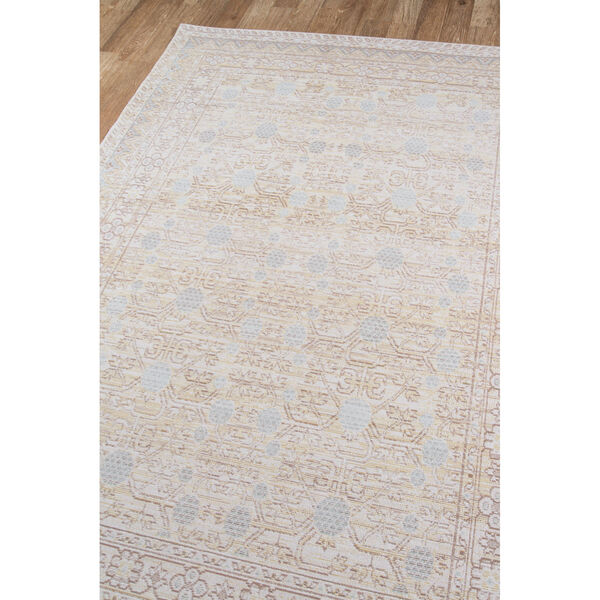 Isabella Oriental Blue Rectangular: 9 Ft. 3 In. x 11 Ft. 10 In. Rug, image 2