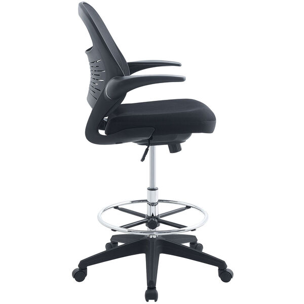 Advance Drafting Stool in Black, image 3