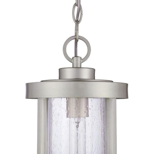 Encompass Satin Aluminum One-Light Outdoor Mini-Pendant, image 6