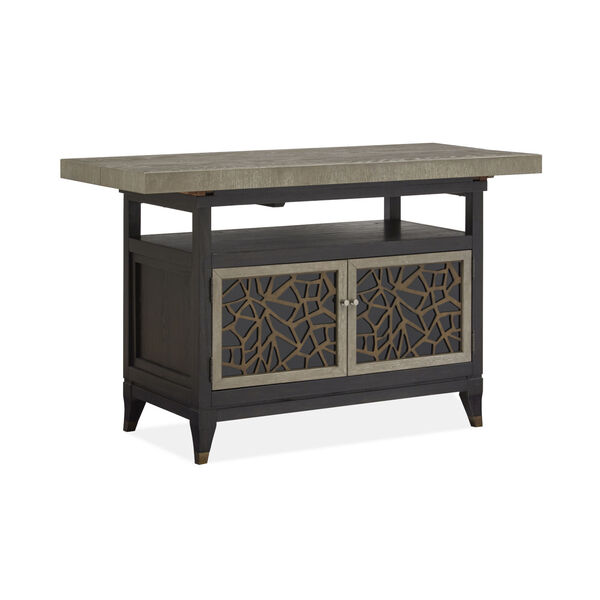 Ryker Black Counter Height Dining Table, image 1