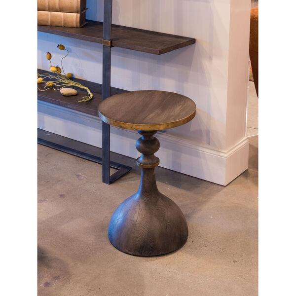 Gray Upturned Goblet Side Table, image 4