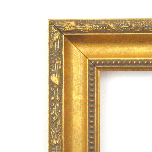 Colonial Gold 22W X 28H-Inch Decorative Wall Mirror, image 2