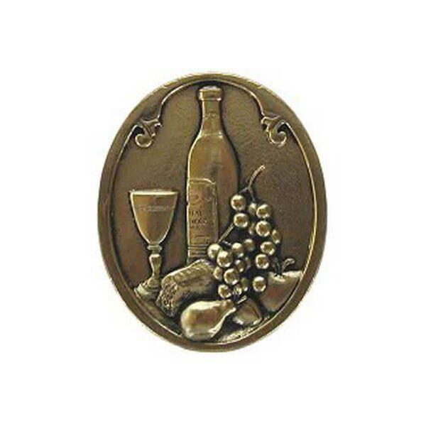 Bright Brass Best Cellar Knob , image 1