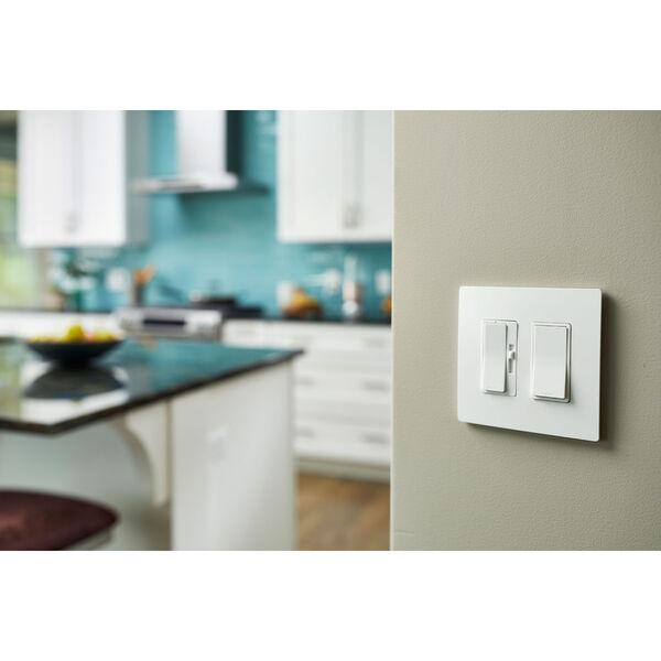 450W White CFL LED Single Pole 3-Way Dimmer, image 4
