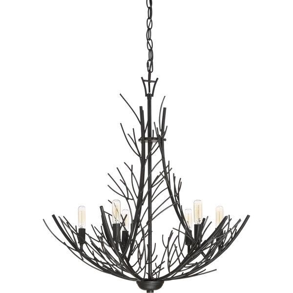 Thornhill Marcado Black Six-Light Pendant, image 2