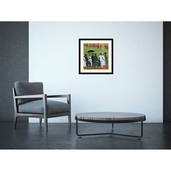 Funeral Procession by Ellis Wilson, 20 In. x 20 In. Framed Art, image 4