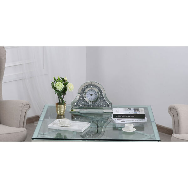 Sparkle Clear 16-Inch Table Top Clock, image 2