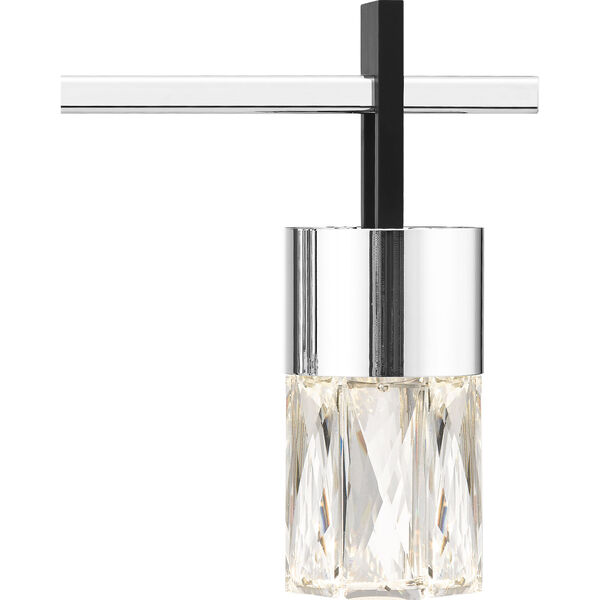 Adena Polished Chrome Three-Light LED Bath Vanity, image 5