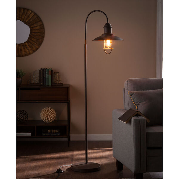Pinsley Caged Bell Floor Lamp, image 2