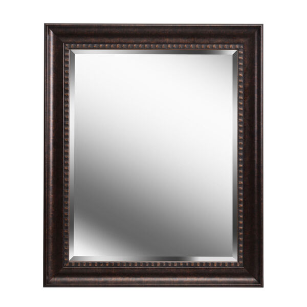 Amiens Bronze and Gold Highlight 30-Inch Wall Mirror, image 2