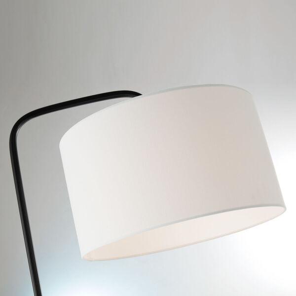 Orea Black One-Light Floor Lamp, image 2
