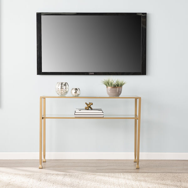 Jaymes Soft Gold 43-Inch Console Table, image 3