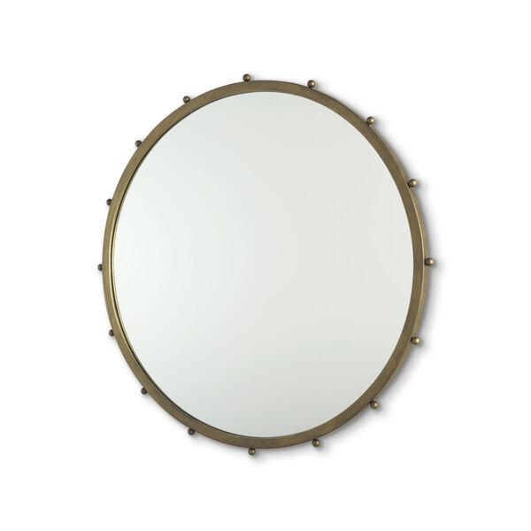 Elena II Gold Wall Mirror, image 1