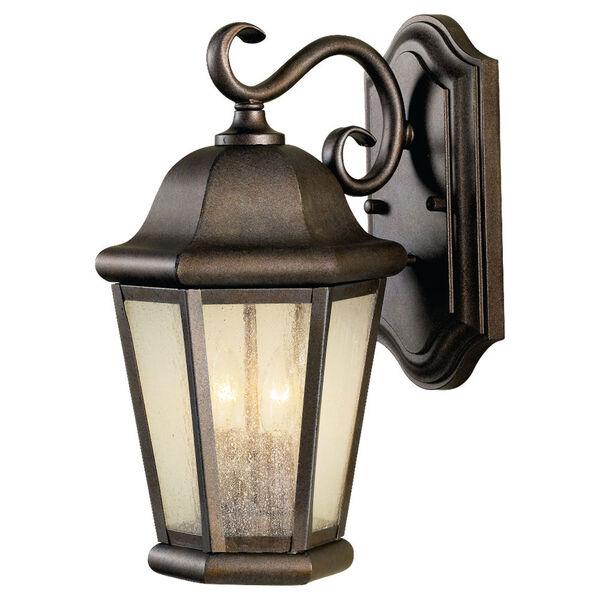 Martinsville Corinthian Bronze Two-Light Outdoor Wall Lantern Light, image 1
