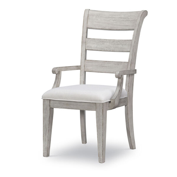 Belhaven Weathered Plank Arm Chair, Set of Two, image 1