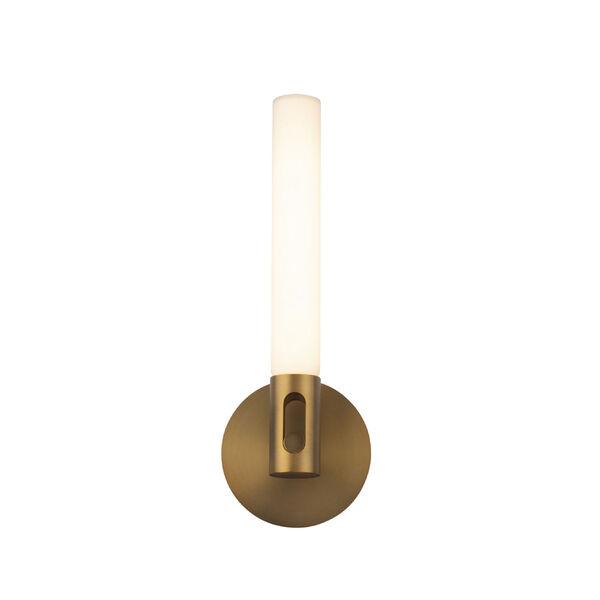 Clare Aged Brass LED ADA Bath Vanity, image 2