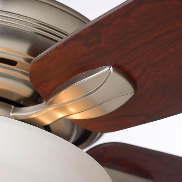 Pro Series Brushed Steel Three Light Ceiling Fan, image 5
