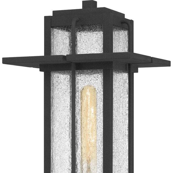 Randall Mottled Black One-Light Outdoor Post Mount, image 5