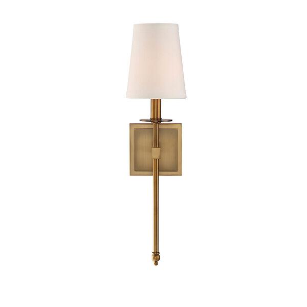 Monroe Warm Brass One-Light 20-Inch Sconce, image 3